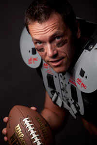 Jürgen Dawin model american football